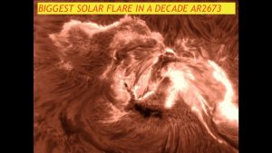 Largest Solar Flare in a Decade AR2673, Monster X9-Flare & Hurricane Irma Category 5