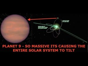 Planet 9 So Massive It's Causing the Entire Solar System to Tilt