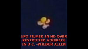UFO's & Wormholes Over Restricted Air Space in D.C. High Definition & Infrared