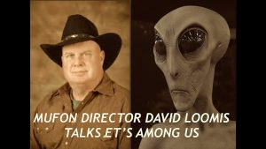 MUFON Director, ET's Among Us, Field Investigations, David Loomis