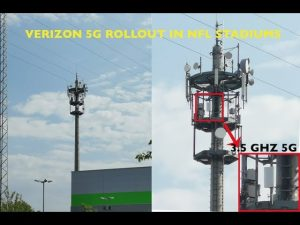 Strange Verizon 5G Network Rolling Out in Football Stadiums & Can't Even Cover Entire Arena