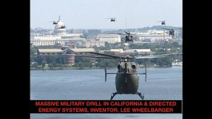 Massive Military Drill in California, UN in SLC? Directed Energy Systems, Inventor Lee Wheelbarger