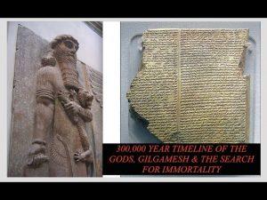 Anunnaki Timeline, Gilgamesh Search for Immortality Technology