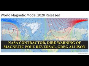 NASA Contractor, Dire Warning of Magnetic Pole Reversal, North Pole Has Passed Prime Meridian