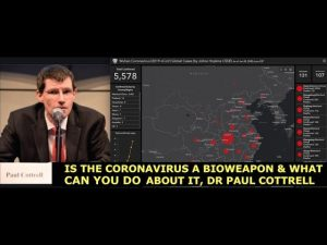 Coronavirus, Is it a Bioweapon & What Can You Do About It? Dr Paul Cottrel