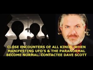 ET Disclosure, Abductions, UFO's & Implants, Contactee Dave Scott, Q & A